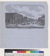 J Street, Sacramento, on New Year's Day, 1853 [California]