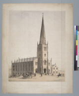 [Design for Saint Mary's Church, San Francisco, California]