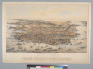 Bird's-eye view of the city and county of San Francisco [California], 1868