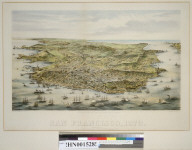 Bird's-eye view of the city and county of San Francisco [California], 1873