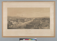San Jose, [California] from City Hall, 1858