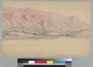 Near St. Barbara, [California] August 25th, 1856