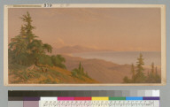 Santa Cruz Mountains, Monterey Bay, Pacific Ocean, [California]