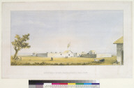 Sutters's Fort, Sacramento, Cal[ifornia] 1847