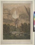 The great Yo-Semite [Yosemite] Fall in Mariposa County, California