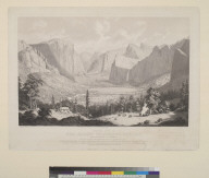 General view of the great Yo-Semite [Yosemite] Valley, Mariposa County, California