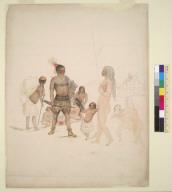 [Yurok? Indians: men, women and children, Humboldt County, California?]