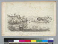 Chagres from the anchorage, Feb[ruary] 14th, 1849 [Panama]