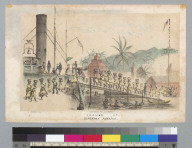Coaling up, Kingston, Jamaica