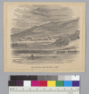 San Francisco from the Bay in 1847 [California]