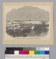 View of San Francisco in 1849, from head of California Street