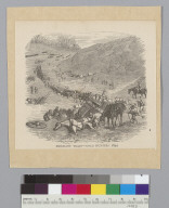 Emigrant train, gold hunters 1849