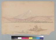 [Columbia River with Mount Hood, Oregon]