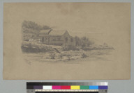 [View of house, Marin County, California?]