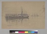 [Steam vessel at warehouse dock, San Francisco, California]