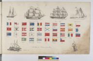 Pavillons des Puissances maritimes