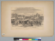 Scene in the last grand parade and review of the Vigilance Committee, San Francisco... [California]