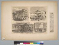 Earthquake in San Francisco, California, October 21, 1868
