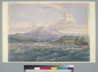 [View of mountains, Pacific Northwest?)