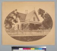 [Residence of C. L. Parish, Jackson, Amador County, California]