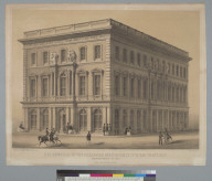 Design for the Hall of the Mechanics Institute of the city of San Francisco [California]