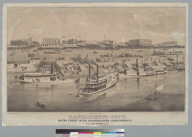 Sacramento City: waterfront with contemplated improvements, by J. B. M. Crooks & Co.
