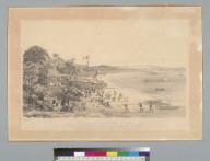 View of the Playa Prieta, Panama