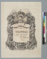 Committee of Vigilance of San Francisco [California, certificate]