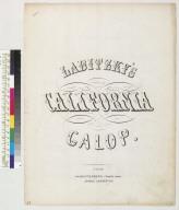 Libitzky's California galop