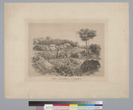 View of Culebra or the Summit, the terminus of the Panama Railroad in Dec[ember] 1854