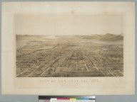 City of San Jose, Cal[ifornia] 1875