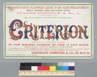 Criterion [ship]
