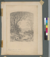 Napa Creek [California], 1868: A sketch from nature