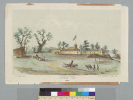 Sutter's Fort [Sacramento, California], 1849