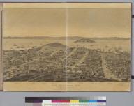 San Francisco, [California] 1862: from Russian Hill, sec[tio]n 3 looking east
