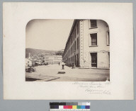 """Almacenes Fiscales 1861. (Custom House Stores), Valparaiso, Chile."" [photographic print]"