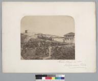 """""""Cerro Alegre in 1861. Valparaiso, Chile."""" [photographic print]"""