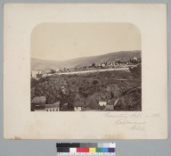 """""""Cemetery Hill in 1861, Valparaiso, Chile."""" [photographic print]"""