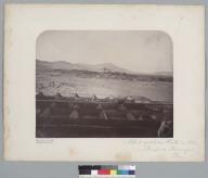 """Nitrate of Soda works in 1863, Pampa de Tamarugal, Peru."" [photographic print]"