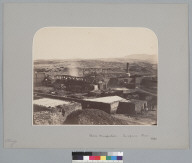"""""""Nitrate Manufacture, Tarapaca, Peru, 1863."""" [photographic print]"""
