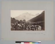 """""""Santa Rosa Pass, La Cordillera (15,600 ft.), Chile, 1863."""" [photographic print]"""