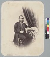 """Mr. Ginder, 1863,"" studio portrait. [photographic print]"