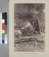 """Indian tent at Harrisburg."""