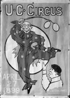 Circus poster, University of California at Berkeley. [negative]