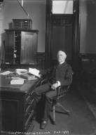 """C.U. Pres. Martin Kellog, Mar. 1899,"" University of California at Berkeley. [negative]"