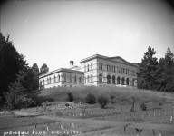 """Mechanics Bldg., U.C., ca.1900,"" University of California at Berkeley. [negative]"