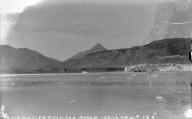 """Muir Glacier from the Morain, gen[era]'l view,"" Alaska. [negative]"