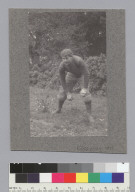 """Griesberg, U.C. football, 1899,"" University of California at Berkeley. [photographic print]"