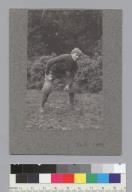 """Hill, U.C. football, 1899,"" University of California at Berkeley. [photographic print]"