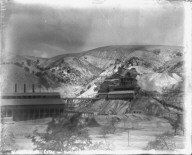 Mine works, Virginia City, Nevada. [negative]